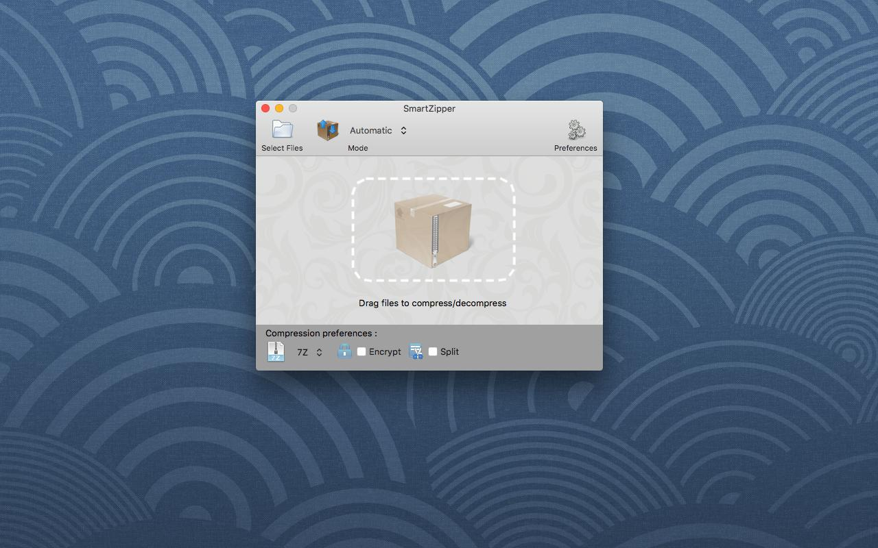 Smart Zipper Mac 破解版 强大好用的文件压缩解压,加密工具-麦氪搜(iMacso.com)